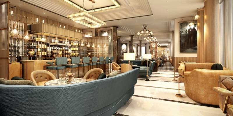 Design concept: Waldorf Astoria Dubai International Financial Centre