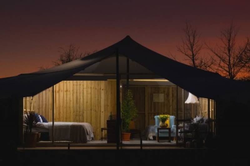 Luxury Family Hotels to launch bespoke glamping pods and new café concept at Woolley Grange