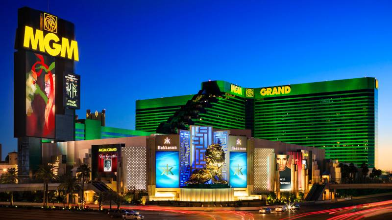 MGM Resorts reports strong booking for Las Vegas properties