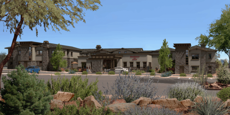 Sun rises on new all-suite hotel in Arizona