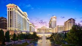 Caesars says weekends 'sold out' in Las Vegas