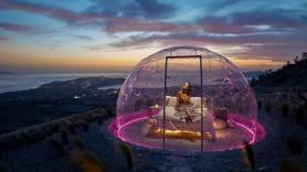 Take Camping in Greece to New Heights With Sky Dome