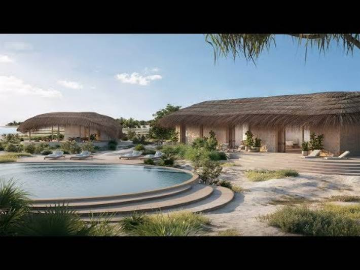 Mozambique's Kisawa Sanctuary will be the the world's first 3D-printed resort