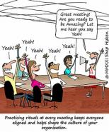The Customer Service Ritual That Takes Place at Every Meeting
