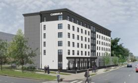 Cambria Hotel New Haven, Connecticut Breaks Ground