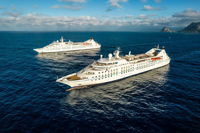 Stretched Star Legend Delivered to Windstar from Fincantieri