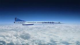 United agrees to buy supersonic jets
