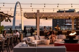 Cinder Bar Launches Rosé on the Rooftop at Four Seasons Hotel St. Louis This Summer