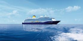 Saga's Spirit of Discovery in Countdown To Her First Round Britain Cruise