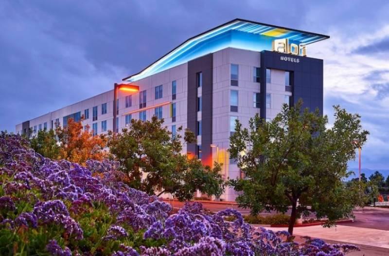 Aloft Santa Clara Is Managed by HRI Lodging, LLC