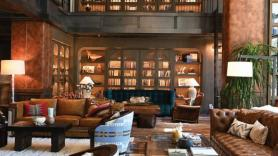 Inside Hotel Drover in Fort Worth, Texas