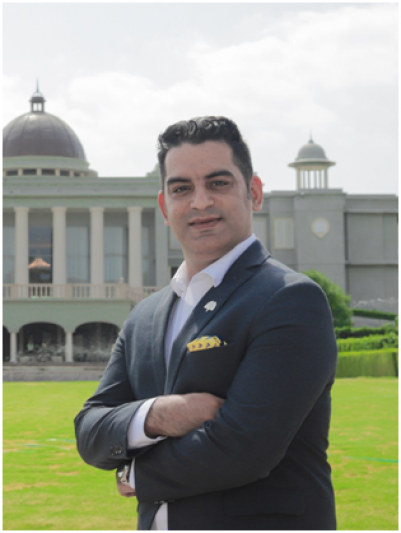 Rajan Malhotra is the new Director of Sales and Marketing of Raffles Udaipur