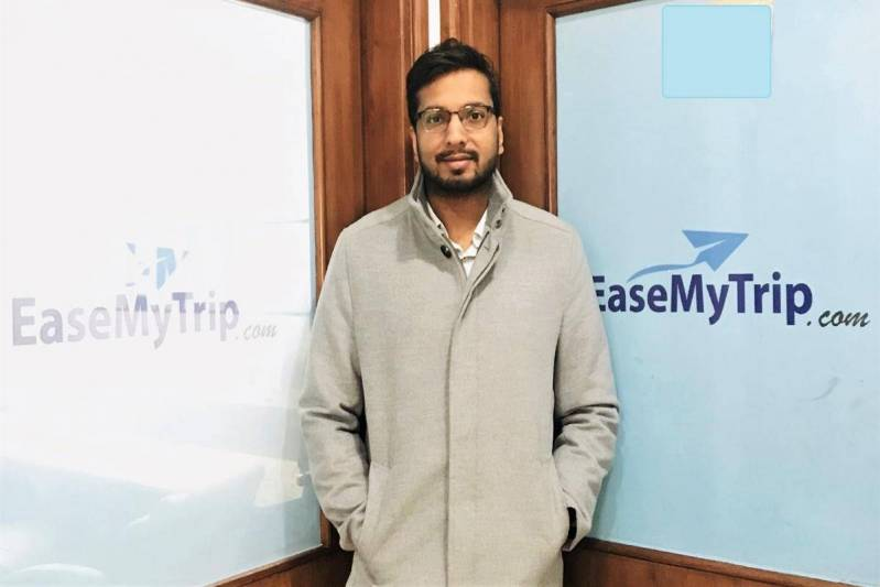 Interview: Prashant Pitti, co-founder and executive director,EaseMyTrip