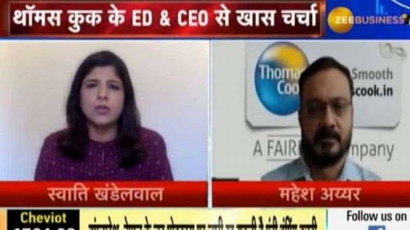 Thomas Cook India's survey suggests that 80% of customers want to travel in this calendar year: Mahesh Iyer, ED & CEO