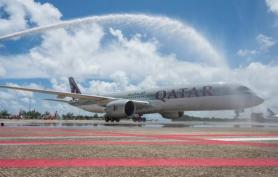 Qatar Airways operates four weekly flights to Phuket with Airbus A350