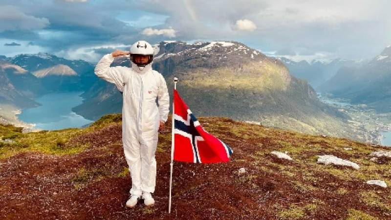 Exploring Norway feels like being on a mission in space