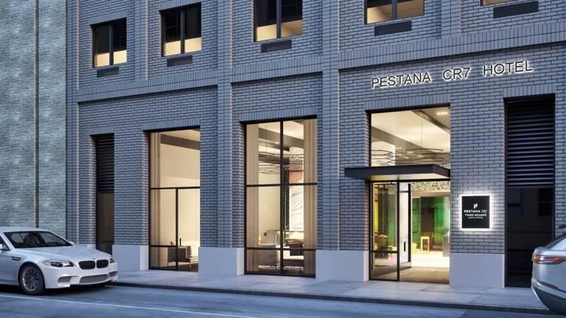 Cristiano Ronaldo hotel opens in New York