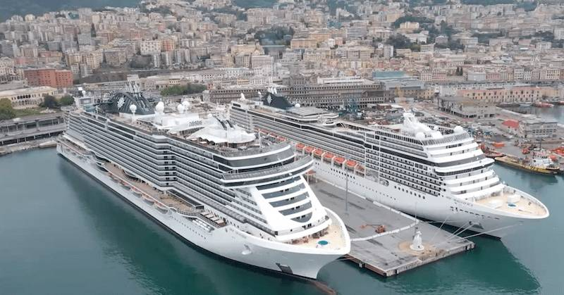 MSC, Fincantieri and Snam Partner for 'World's First Oceangoing Hydrogen-Powered Cruise Ship