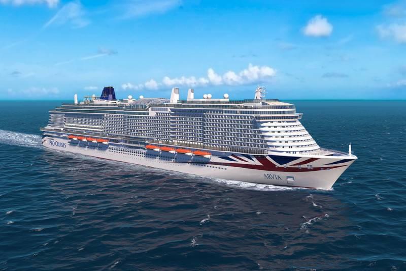 Construction Starts on P&O Cruises' New Ship Arvia