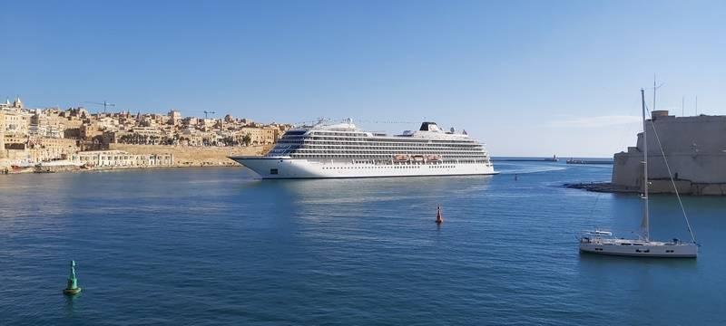 Valletta Welcomes Viking For Homeporting Program
