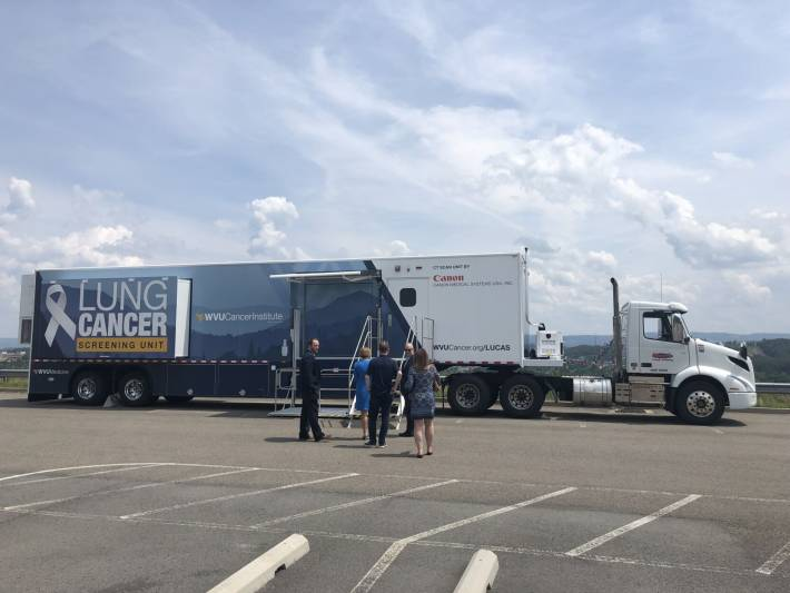WVU Medicine unveils LUCAS, mobile unit that will travel West Virginia offering lung cancer screening services