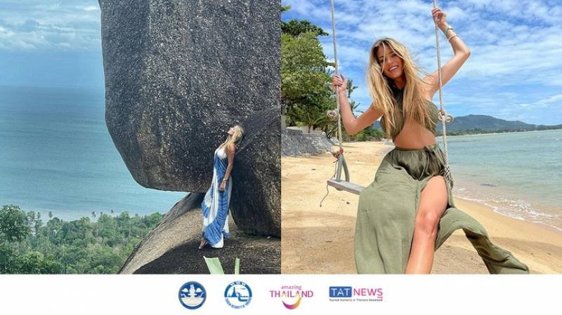 Miss Poland 2011 publicly shares her memorable Samui Plus holiday experience
