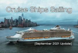 Over 200 Cruise Ships to Sail in September