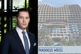 Thaddaeus Weiss appointed Hotel Manager at Sindhorn Kempinski Hotel Bangkok