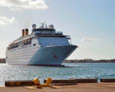 Bahamas Paradise Cruise Line Gets Entergy Charter for Hurricane Ida Housing