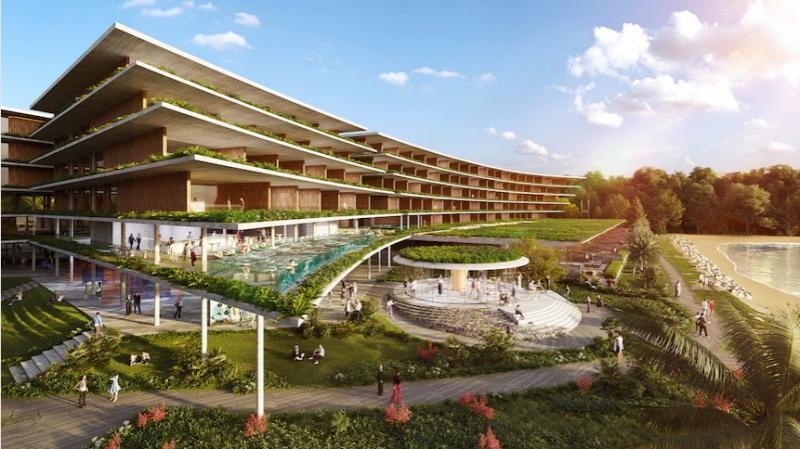 Little Mindil luxury hotel proposal in Darwin triggers sacred site concerns