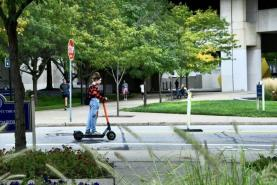 Pitt students travel in style with new Spin scooters