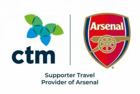 Corporate Travel Management appointed as Supporter Travel Provider of Arsenal