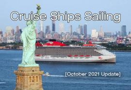 Return to Service: Here Are the Cruise Ships Sailing in October