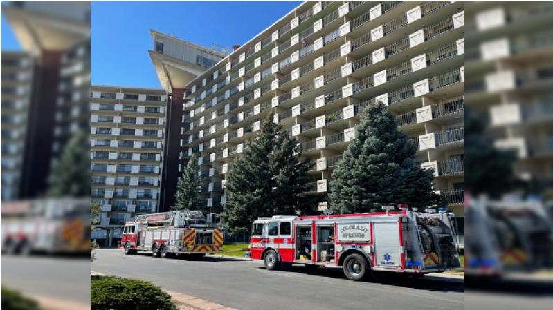 Crews called to fire inside Satellite Hotel in Colorado Springs