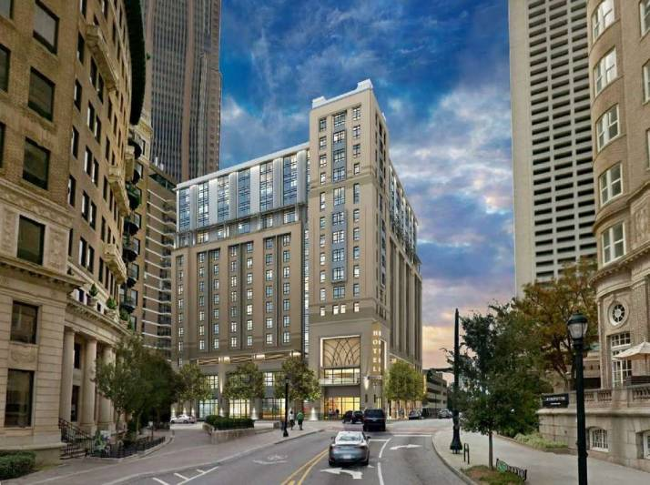 The Courtyard by Marriott Atlanta Midtown & Element by Westin Atlanta Midtown