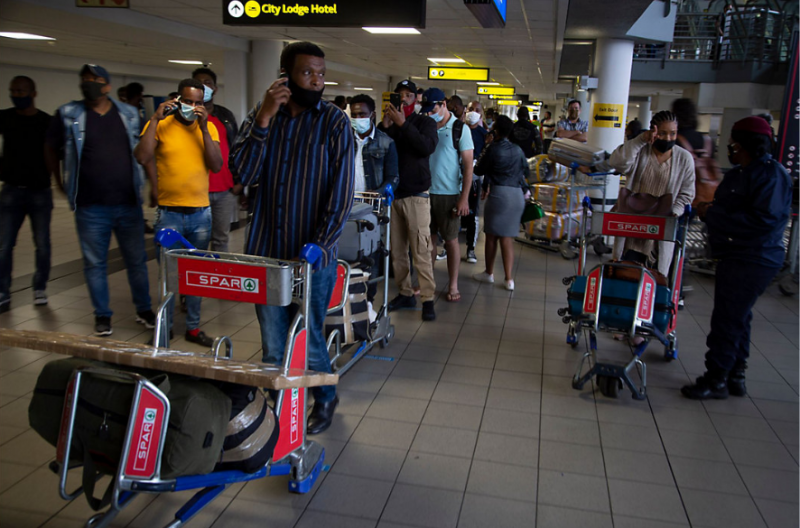 Travel bookings surge as U.K. takes S. Africa off red list