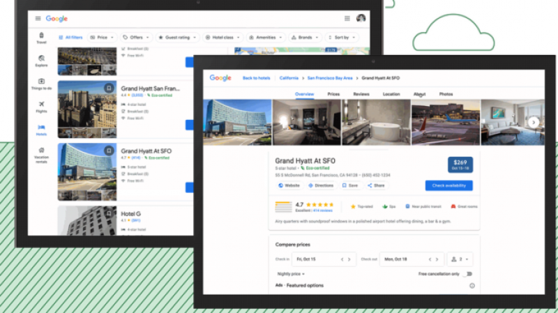 Google Unveils New Feature that Allows Hoteliers to Identify their Sustainability Efforts on Their Search Results Page
